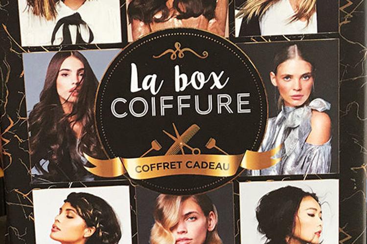 Offrez la Box Coiffure Styles et Coupes