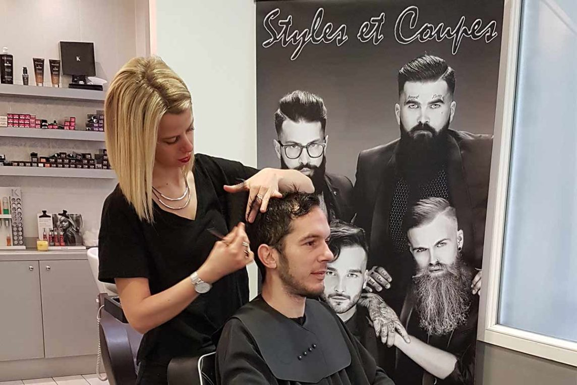 Coupe, shampoing et séchage - Homme