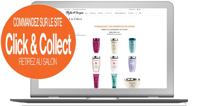 nouveau service de click an collect