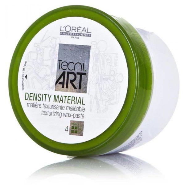 rème cire texturisante Density Material TECNI.ART offre une définition spectaculaire et fixation puissante alliées à une finition mat